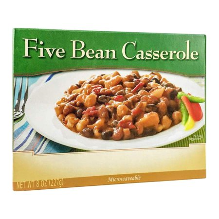 BariatricPal Microwavable Single Serve Protein Entree - Five Bean (Best Make Ahead Freezer Meals)