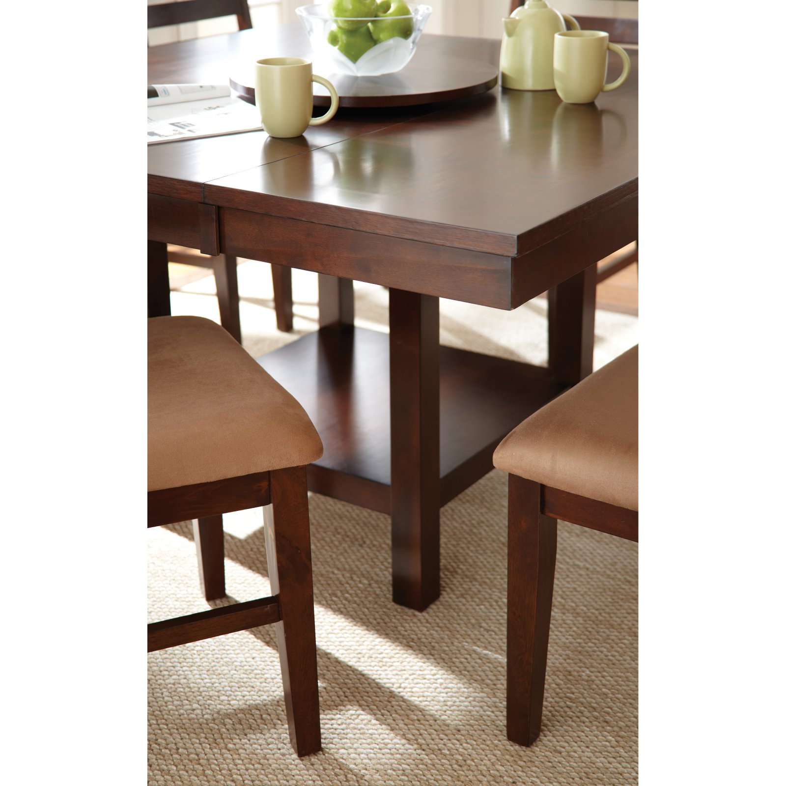 Steve Silver Eden Table with 18 in. Lazy Susan