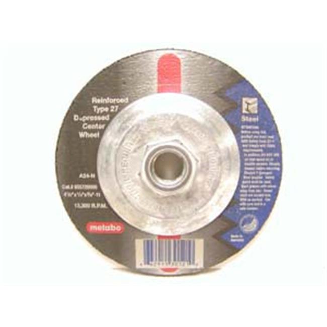Metabo 469-655726000 4.50 in. Type 27 Depressed Center Grinding Wheels - Small Grinders - image 1 de 1