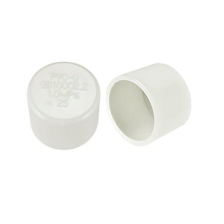 External Pipe (25mm PVC Pipe Cap Fitting Slip Socket External End Caps 10)