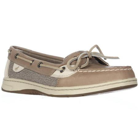 Sperry Top-Sider Womens Angelfish Shoe - Linen/Oat - 9