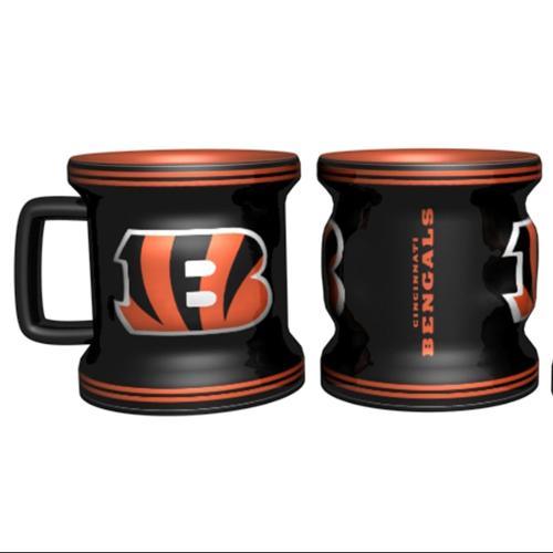 Cincinnati Bengals Shot Glass - Sculpted Mini Mug