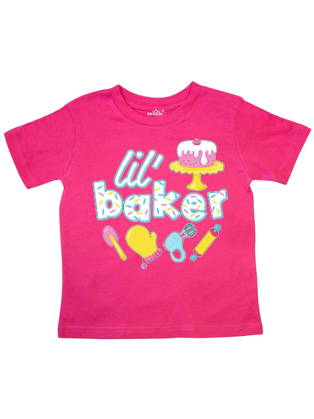 inktastic Bake It Baker Toddler T-Shirt