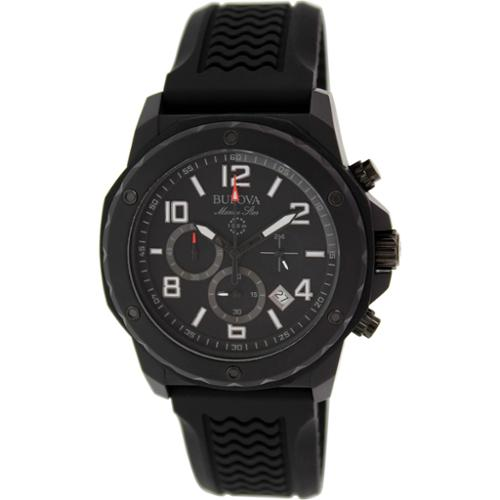 Bulova Men's Analog Watch Black 98B223