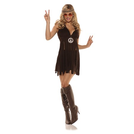 Sunshine Hippie Women's Adult Halloween Costume - Sunshine Halloween Costume