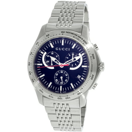 8c0dbfd2074 Gucci - Men s G-Timeless YA126254 Silver Stainless-Steel Swiss Chronograph  Dress Watch - Walmart.com