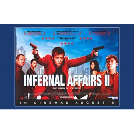 Posterazzi MOV256742 Infernal Affairs 2 Movie Poster - 17 x 11 in. - image 1 of 1