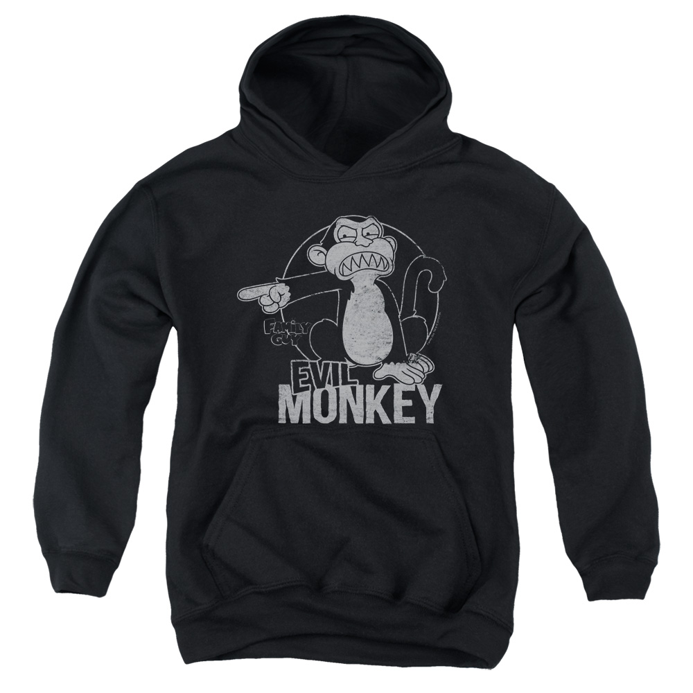 Family Guy Evil Monkey Big Boys Pullover Hoodie