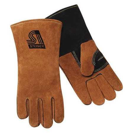 STEINER Welding Gloves,Stick,Gunn,L,PR 02139-L