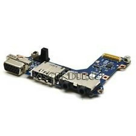DELL LATITUDE E4200 LAPTOP AUDIO ESATA VGA PANEL BOARD D537F CN-0D537F (Laptop Audio Board)