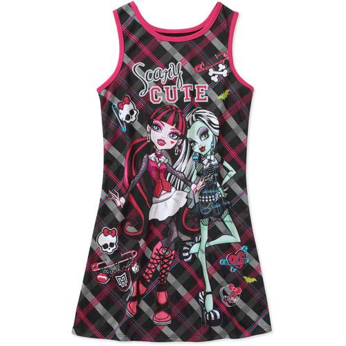 Monster High Girls' Pajama Nightgown