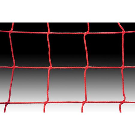 Kwik Goal Soccer Net 8Hx24Wx6Dx6B, 3mm mesh, Red