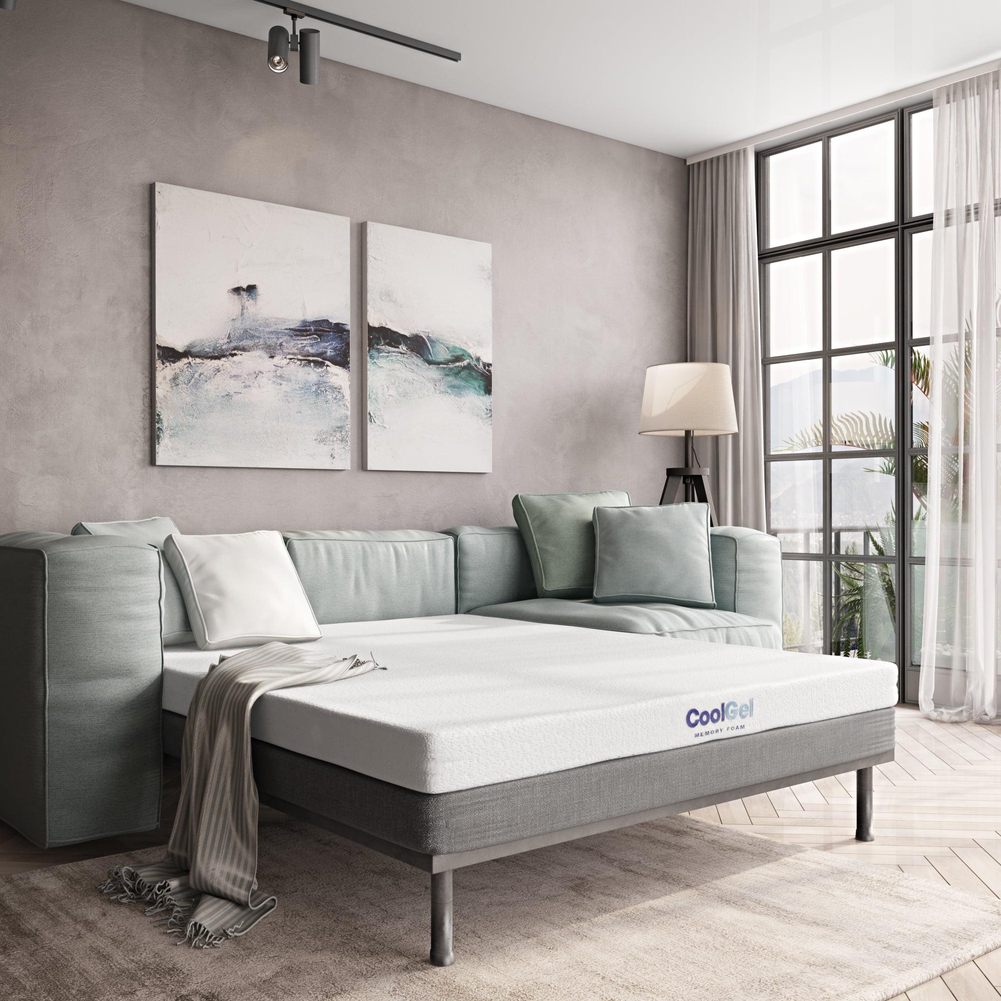 Strange Modern Sleep Cool Gel Memory Foam Replacement Sofa Bed 4 5 Creativecarmelina Interior Chair Design Creativecarmelinacom