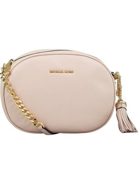 758bf213ff Product Image Michael Kors Women s Medium Ginny Leather Messenger Cross  Body Bag - Soft Pink