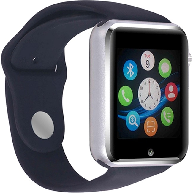 Myepads G10 Bluetooth Smart Watch with Camera Black by Worryfree Gadgets