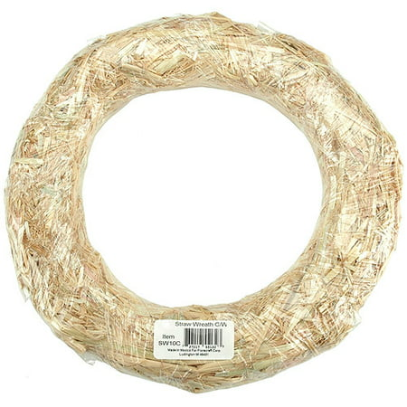 "14"" Straw Wreath Form - CLICK OVER to find Christmas Decor DIY Ideas to Get Crafting for the Holidays Right Now as well as Decorating ideas!"