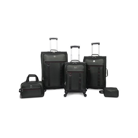 Protege 5 piece Spinner Luggage Set, Green
