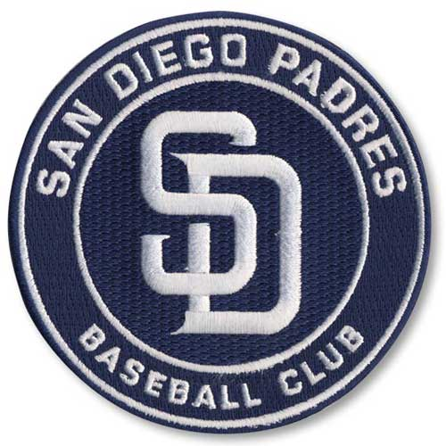 San Diego Padres 2012 Primary Logo Collectible Patch - No Size
