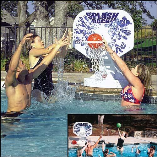 Poolmaster Splashback Poolside Basketball/Volleyball Game for Swimming Pools