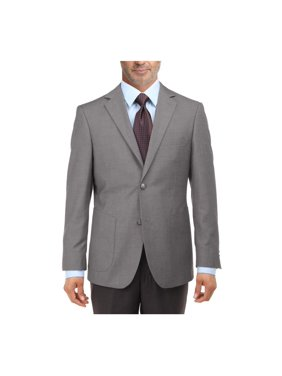 d848e9778 Product Image Salvatore Exte Men's 2 Button Suit Separate Jacket Sport Coat  Blazer Light Gray