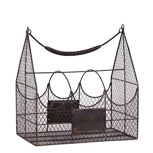 Urban Trends Metal Basket