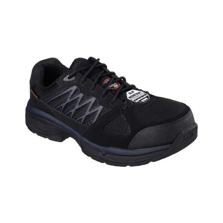- Men's Skechers Work Relaxed Fit Conroe Searcy ESD Work Sneaker