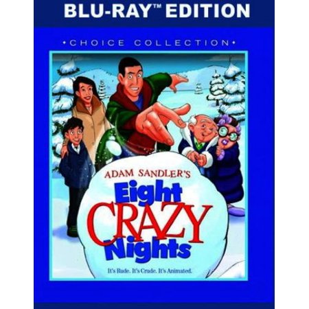 Adam Sandlers Eight Crazy Nights  Blu Ray