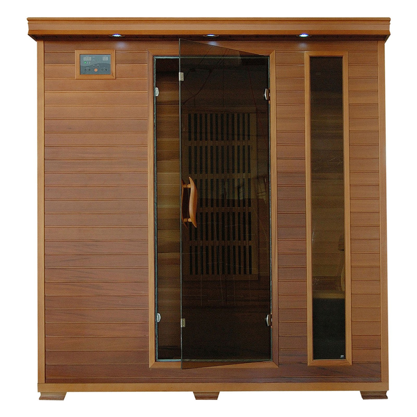 Radiant Sauna 4 Person Cedar Infrared Sauna by Blue Wave Products Inc