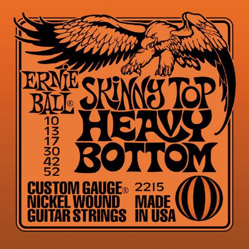Ernie Ball Skinny Top Heavy Bottom String Set