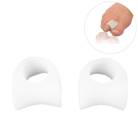 2 Pieces Standard Bunion Toe Separator/Spacer Set - 1 Pair Soft Gel Splints - One Size Fits All - Fast Relief - Wear With Shoes - For Men & Women, Toe Orthotics Foot Correction, Big Toe Silicone