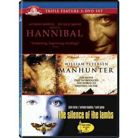 Hannibal Lecter Triple Feature (Hannibal Lecter Halloween Prop)