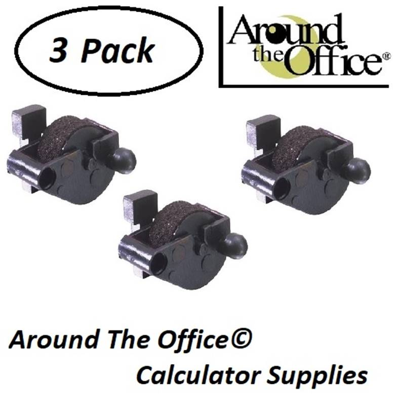 ROYAL Model EZ-Vue-SMD-10 Compatible CAlculator CP-12 Ink Roll by Around The Office