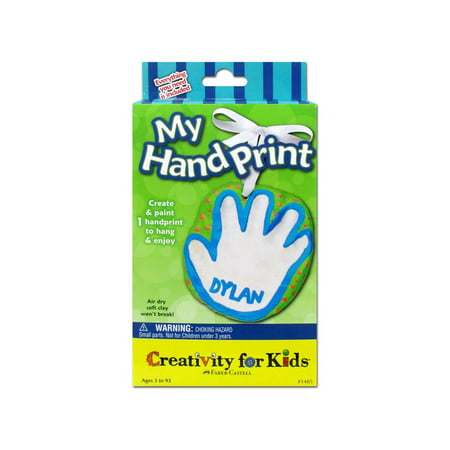 Creativity for Kids My Hand Print Kit - Handprint Art Projects