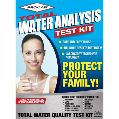 PRO-LAB Total Water Quality Test Kit