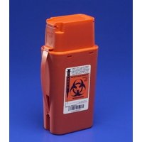 Sharps Container, 1 Quart, SharpSafety Transport Container, 8303SA - Each