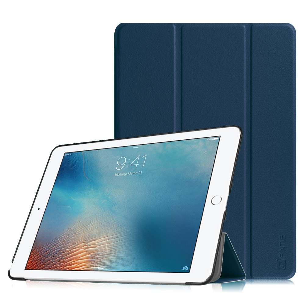 Fintie Apple iPad Pro 9.7 inch Case - [Ultra Slim] Smart Shell Cover with Auto Sleep / Wake Feature, Navy