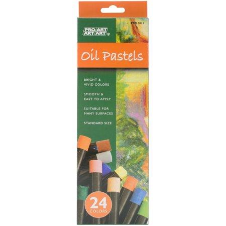 Pro Art Oil Pastel Set 24 Regular Vivid Color