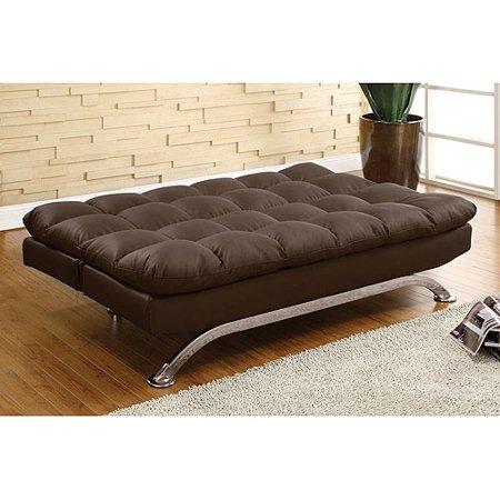 Venetian Worldwide Aristo Leatherette Futon Sofa, Multiple Colors