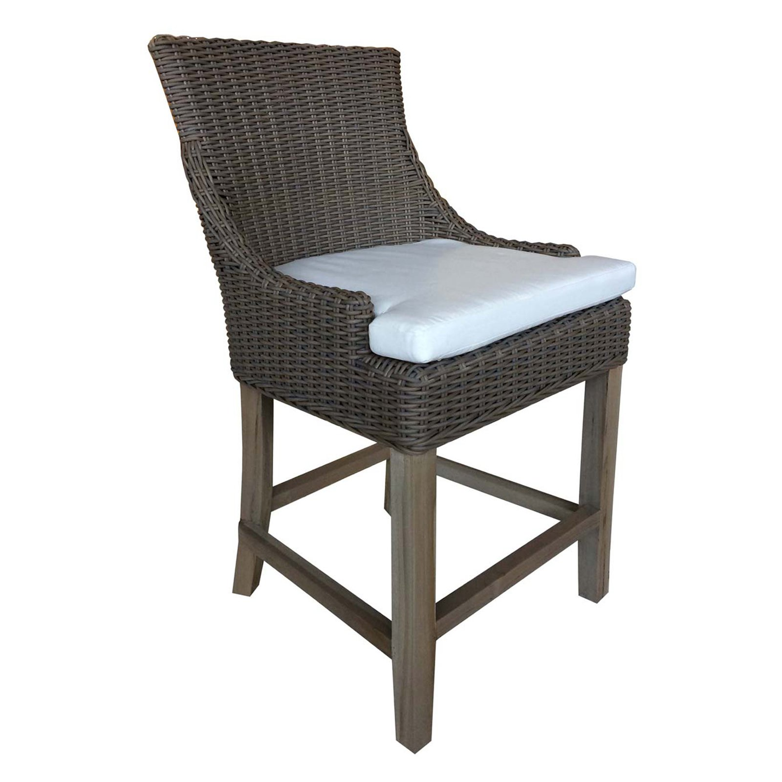 Padmas Plantation Alfresco Indoor/Outdoor Counter Stool