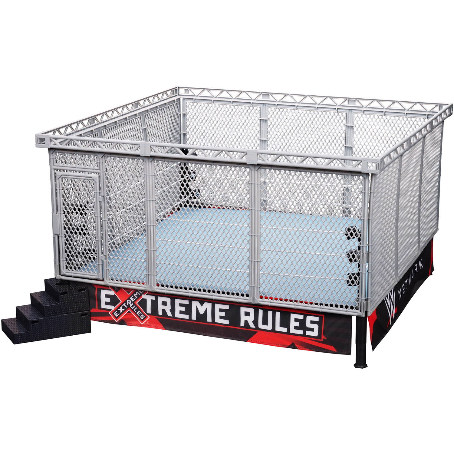 Wicked Cool Toys WWE Authentic Scale Steel Cage Match Walmart