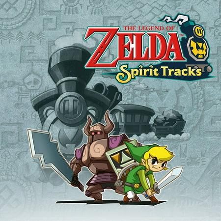 The Legend of Zelda: Spirit Tracks, Nintendo, WIIU, [Digital Download], (Legend Of Zelda Spirit Tracks Walkthrough Ds)