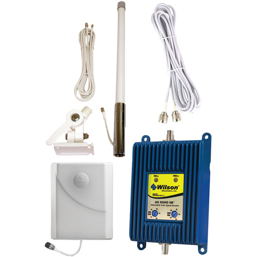 Wilson Electronics 841246 AG SOHO 800MHz-1900MHz Smart Technology II Marine Signal Booster Kit