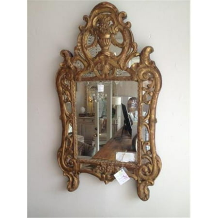 Hickory Manor 7125GL 18th Century French Gold Leaf Decorative Mirror