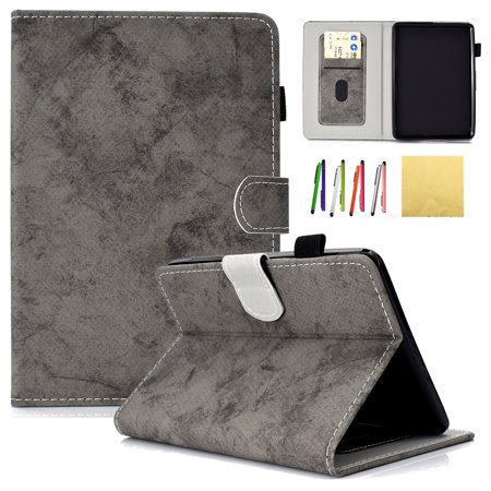 Kindle Paperwhite 2018 Case, Allytech Premium PU Leather Smart Folio Stand  Wallet Case Cover with Auto Wake/Sleep Fits All-New Amazon Kindle