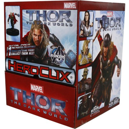 Heroclix  Marvel Thor   The Dark World Movie Gravity Feed Box