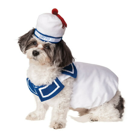Ghostbusters Stay Puft Pet Costume
