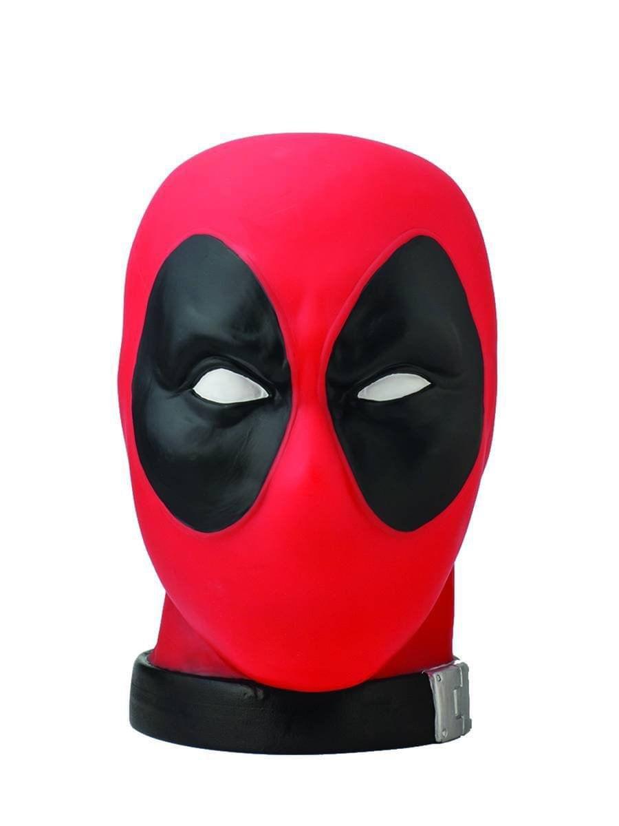 Deadpool Monogram Marvel Head PVC Bust Bank New In stock