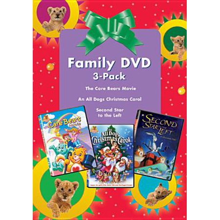 Animated Christmas Classics: The Care Bears Movie/An All Dogs Christmas  Carol/Good Boy! (3 Discs) (Full Frame)