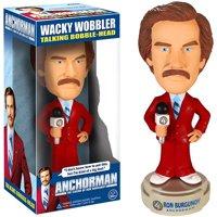 Funko Anchorman Wacky Wobbler Ron Burgundy Bobble Head