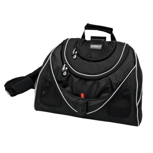 Pet Ego Contour Messenger Bag Black Label Pet Carrier